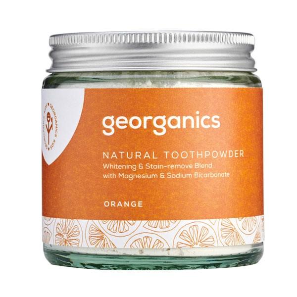 Натурална пудра за зъби - портокал - Georganics