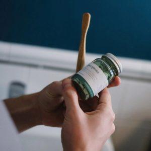 Таблетки за почистване на уста сладка мента - Georganics