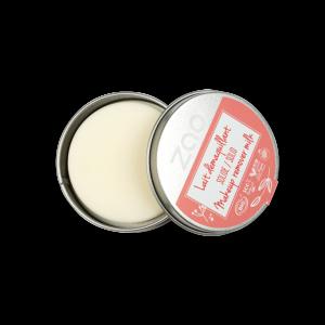 Мляко за почистване на лице и грим - твърдо барче - ZAO