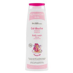Натурален детски душ гел за момичета с ягода - Alphanova