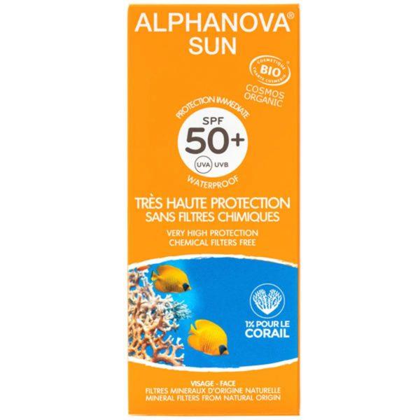 Слънцезащитно мляко SPF 50+ - Alphanova