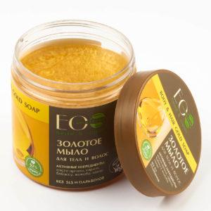 Златен течен сапун за тяло и коса - EcoLab